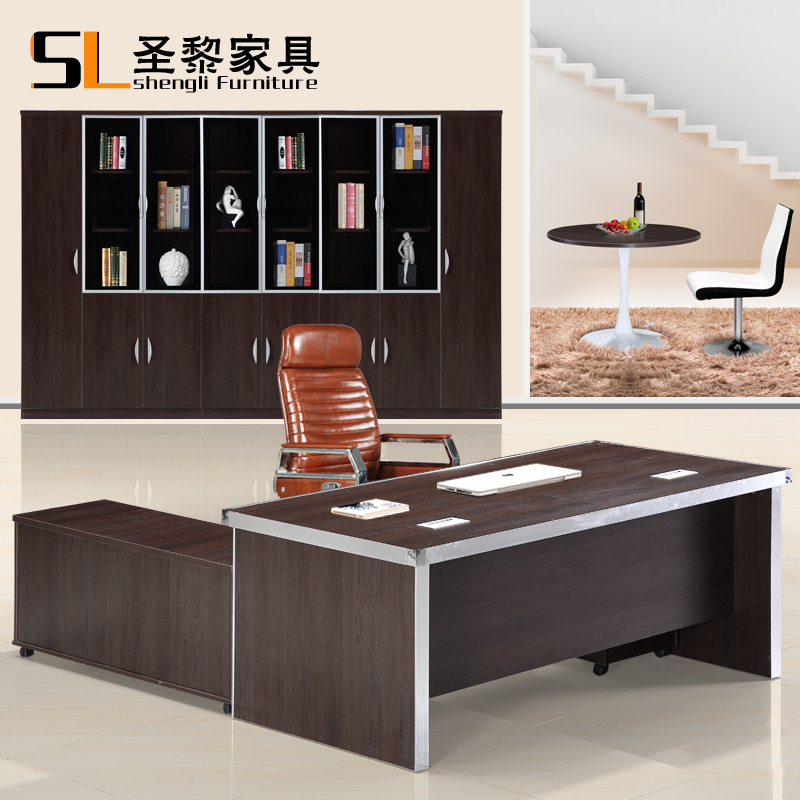 St. li office furniture desk desk desk ceo boss desk desk manager in charge of household electric brain desk of the new 8201