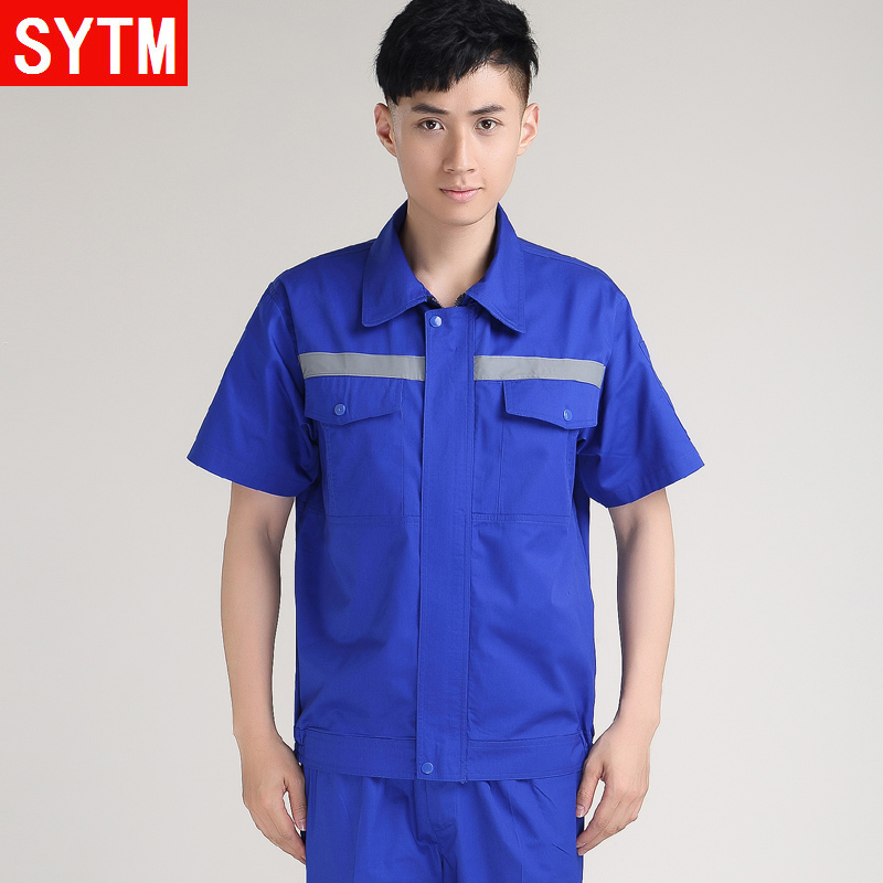 St. thailand and the united states according to aftermarket overalls suit men summer short sleeve work clothes summer clothing factory tooling uniforms