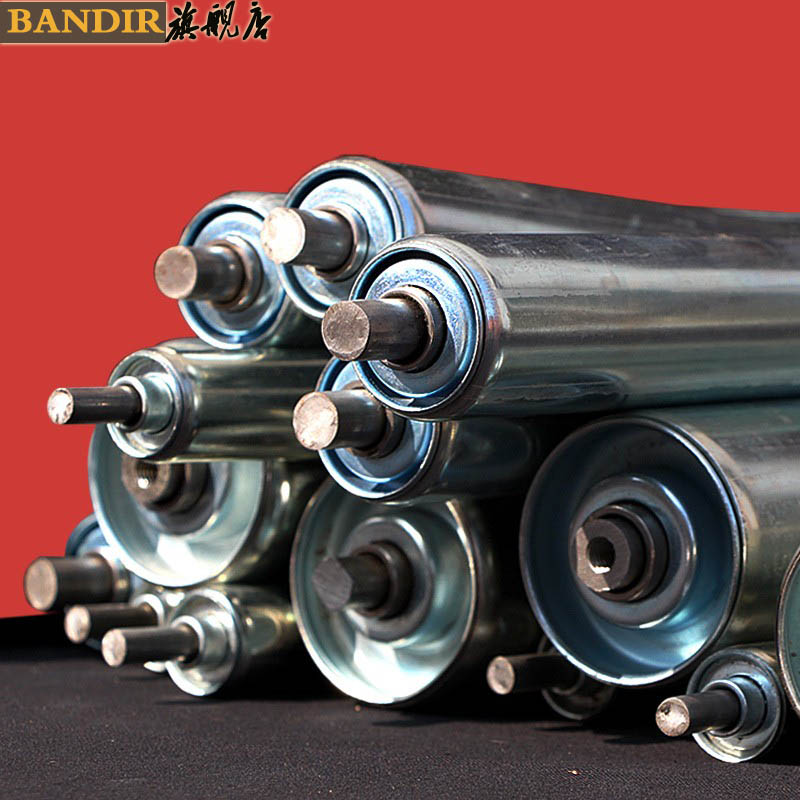 Stainless steel drum without power drum roller galvanized roller drum lines copolyether