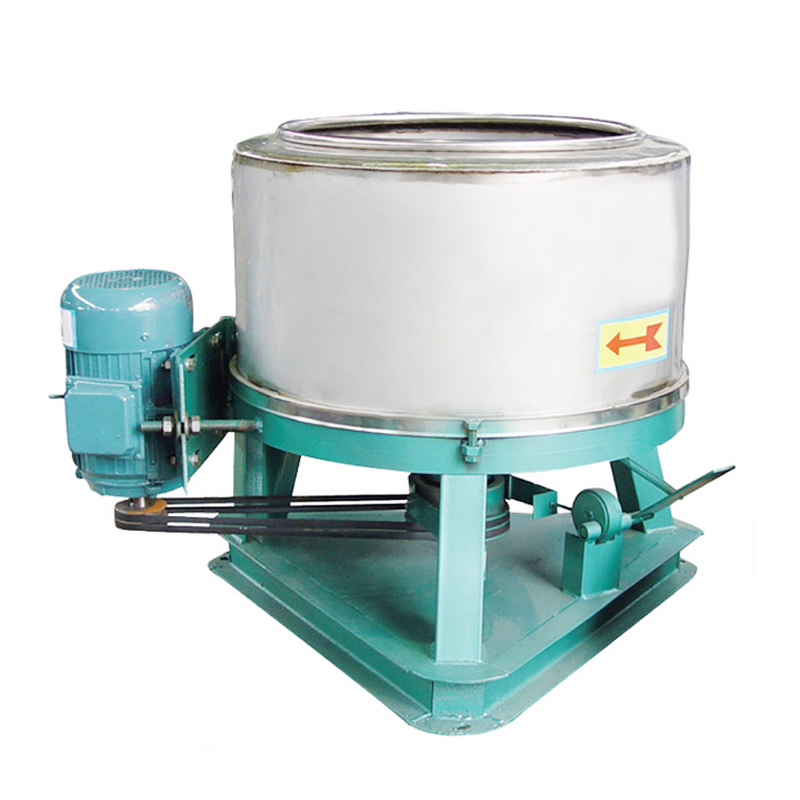Stainless steel food dry off type 55 industrial centrifugal dewatering machine drying machine tripod centrifuging drier dry off Machine