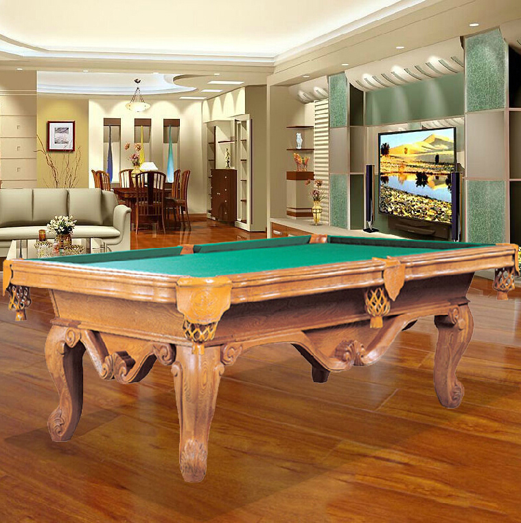 Star brand pool tables foot sculpture XW120-8C standard adult household table billiard black eight american pocket