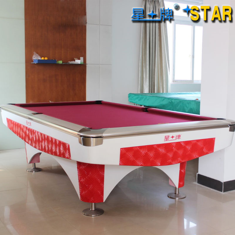 Star brand pool tables standard W130-9B adult household fancy nine ball billiards pool table billiard ball room of the club