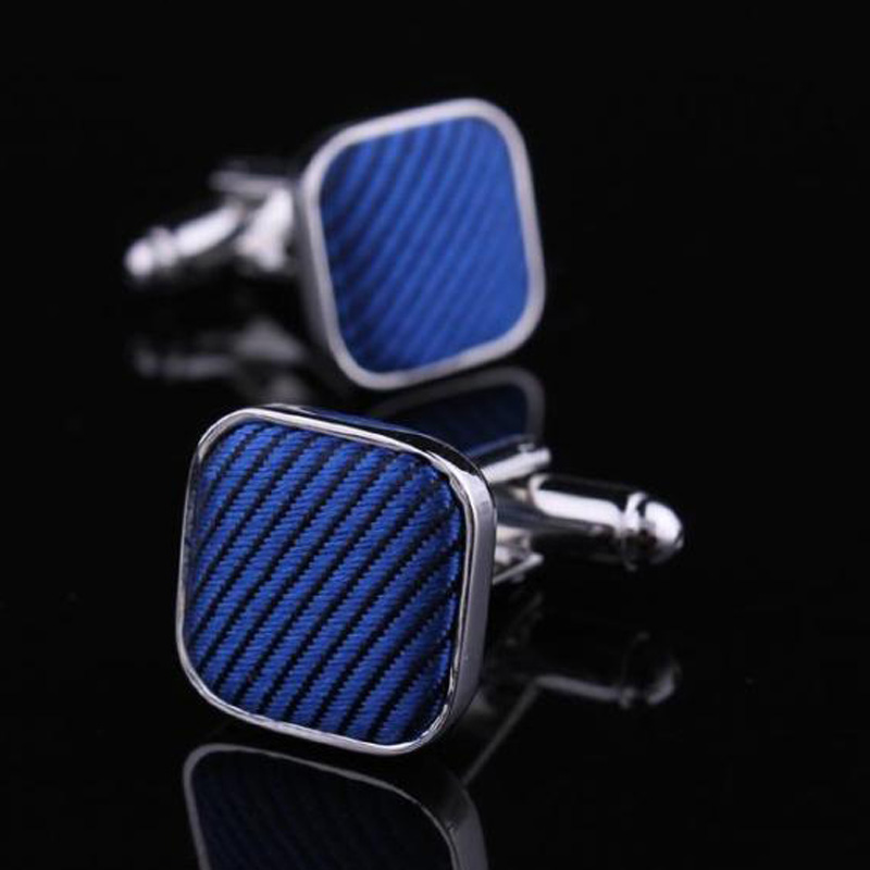 Still hunting return of the king-french shirt cuff cufflinks blue cufflinks for men cufflinks blue cufflinks