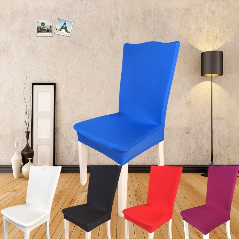 Get Quotations · Stretch chair cover chair home office computer chair cover chair cover dining chair covers stool sets
