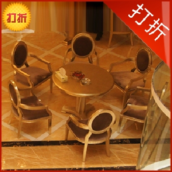 Striking furniture dinette combination of european sales office modern cafe dinette table combinations can be customized zm042