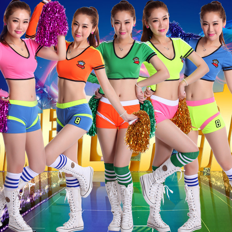 Students male and female football baby cheerleading clothes cheerleading apparel cheerleading ds costumes suit adult children