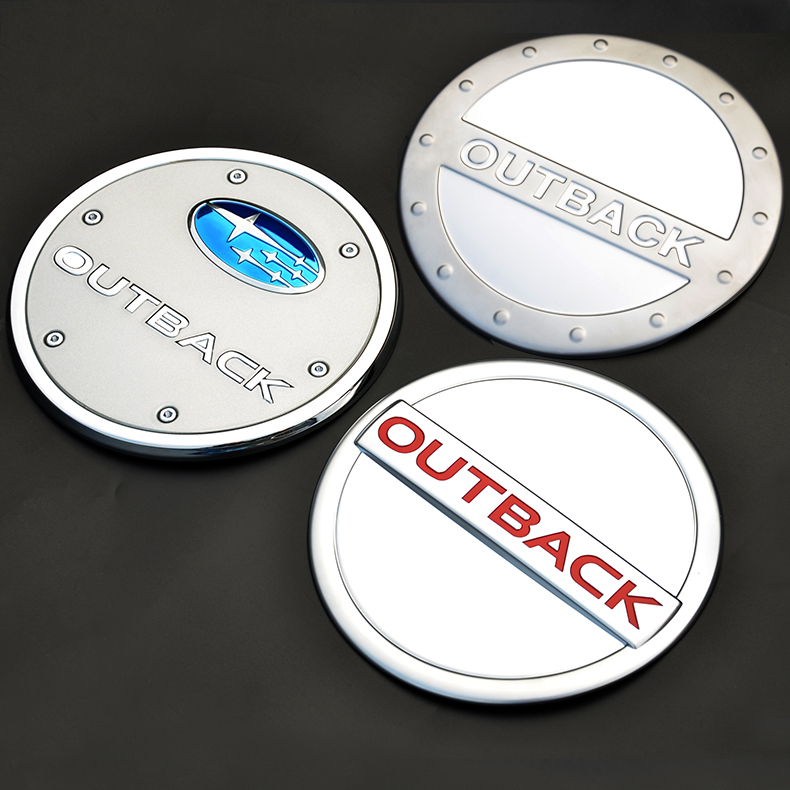 Subaru outback dedicated 15-16 tank cover fuel tank cover stainless steel fuel tank stickers decorative stickers