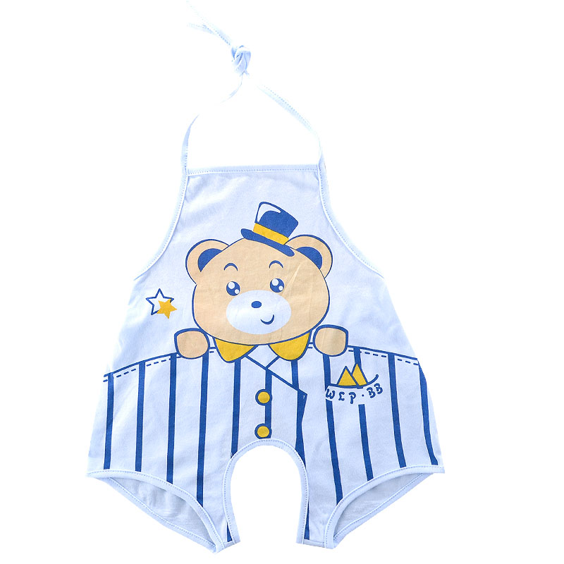 Summer baby cotton open files even leg apron apron baby even foot apron summer cotton nursing baby belly apron