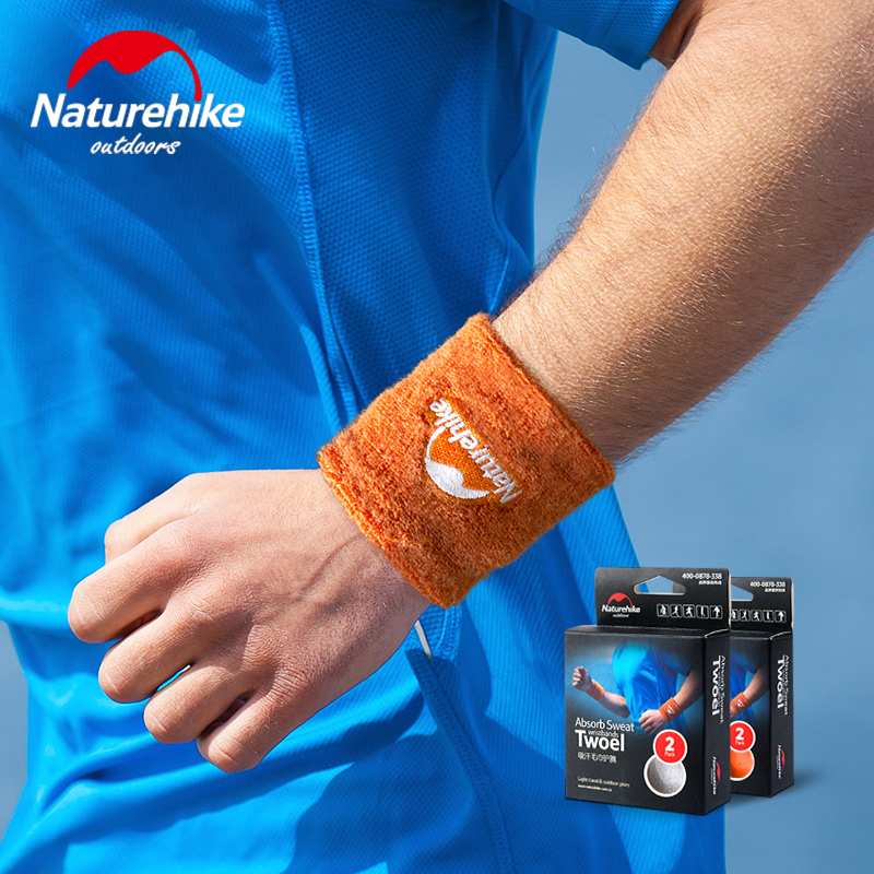 Summer men and women basketball badminton sports towel wrist sweat towel wristband fitness brace 2 loaded