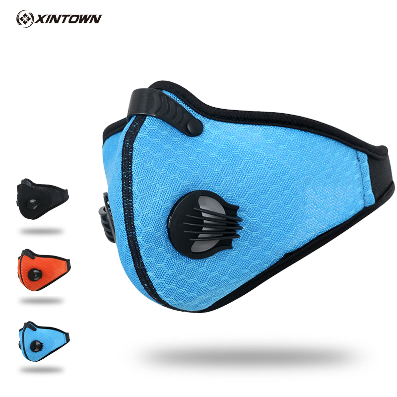 Summer outdoor sports windproof bike riding masks fog and haze masks for men and windproof breathable dust masks