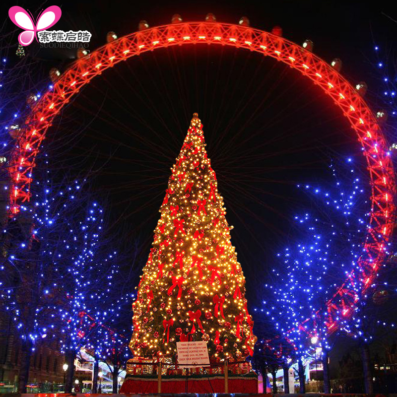 Suo skipperling christmas 3.5 m christmas tree package 350CM christmas package christmas tree shopping malls wine shop square christmas tree