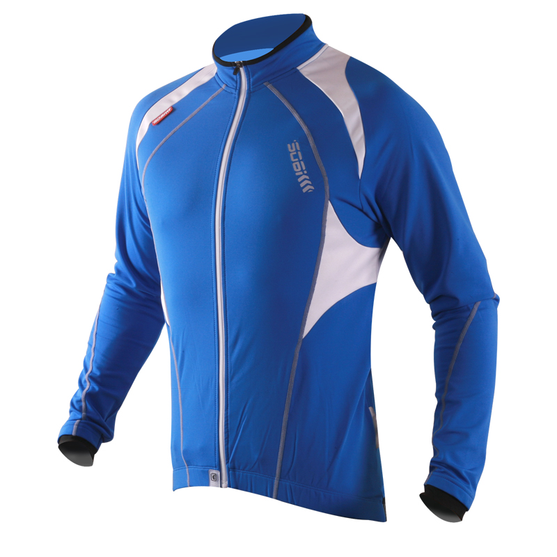 Super league lance sobike cruise breathable spring and winter warm fleece long sleeve jersey suit male