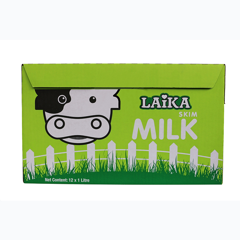 [Supermarket] lynx 1Lx lai laika loving family skimmed milk imported from germany 12 large package