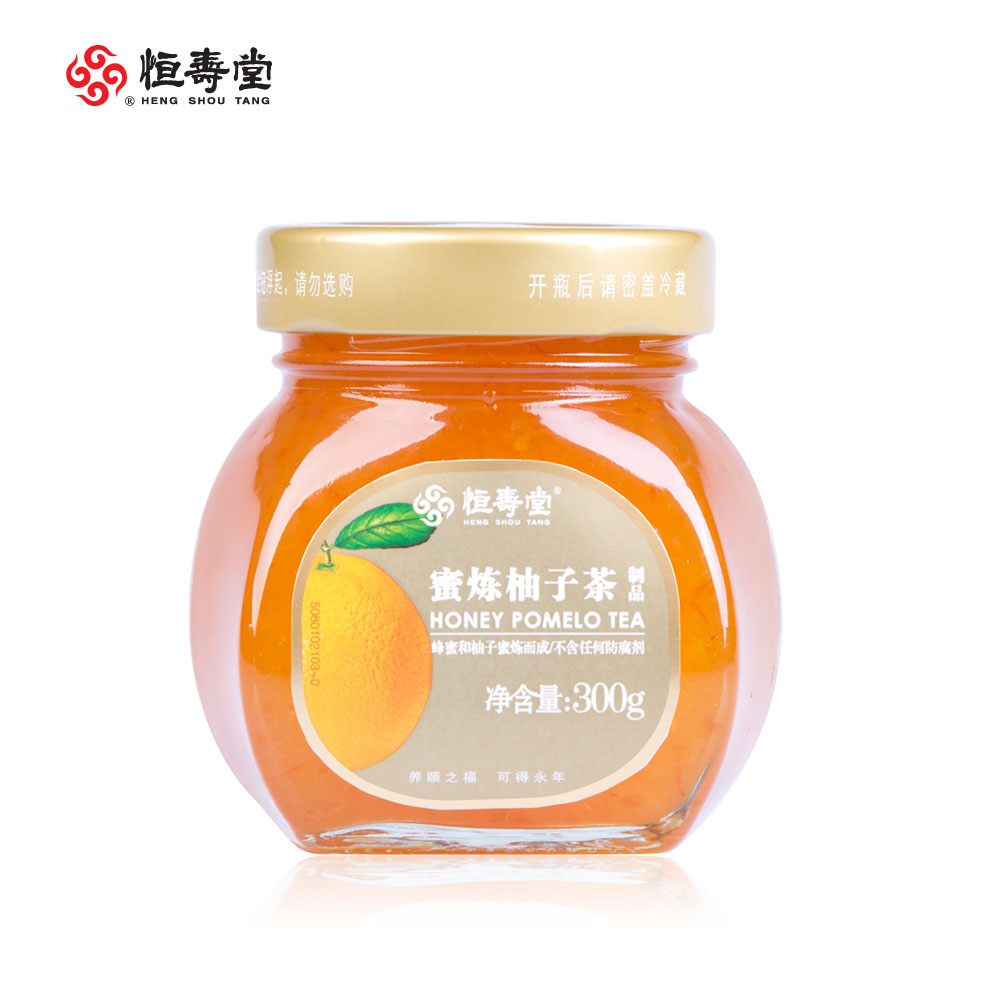 [Supermarket] lynx 300g honey citron tea lian heng shou tang honey citron tea fruit tea 300g/tank