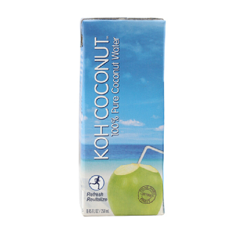 [Supermarket] lynx imported from thailand koh coconut cool coconut island 100% coconut water 250 ml