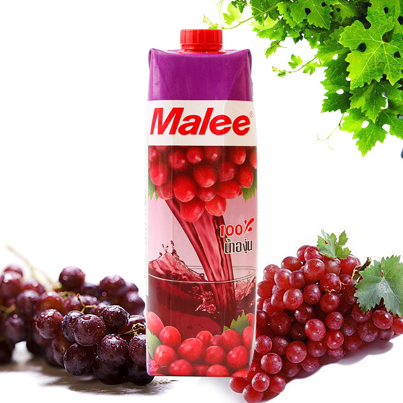 [Supermarket] lynx imported from thailand malee mary grape juice drinks 1000 ml/bottle