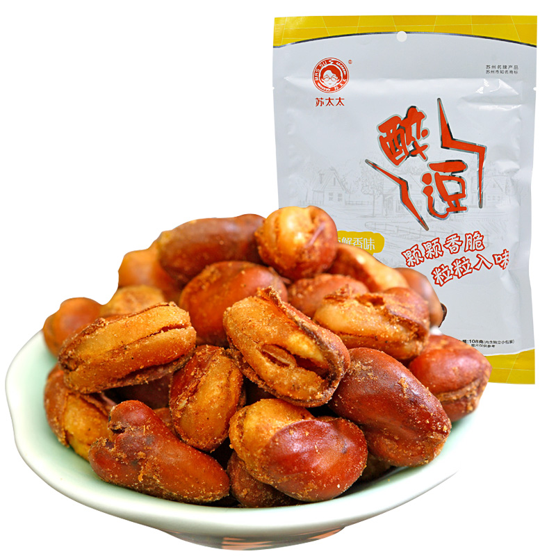 [Supermarket] lynx mrs. sue orchids crab flavor 108g/bag casual snack nuts roasted beans
