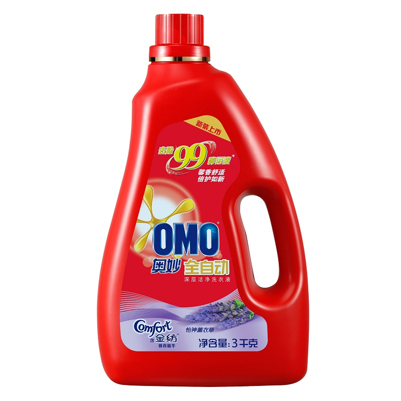 [Supermarket] lynx omo secret automatic spinning gold fragrance essence of deep clean decontamination liquid detergent 3 kg