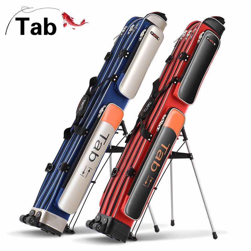 Tab waterproof fishing bag 1.2/1.25 m fishing rod bag crusty two/three fishing bag pole pole fishing gear