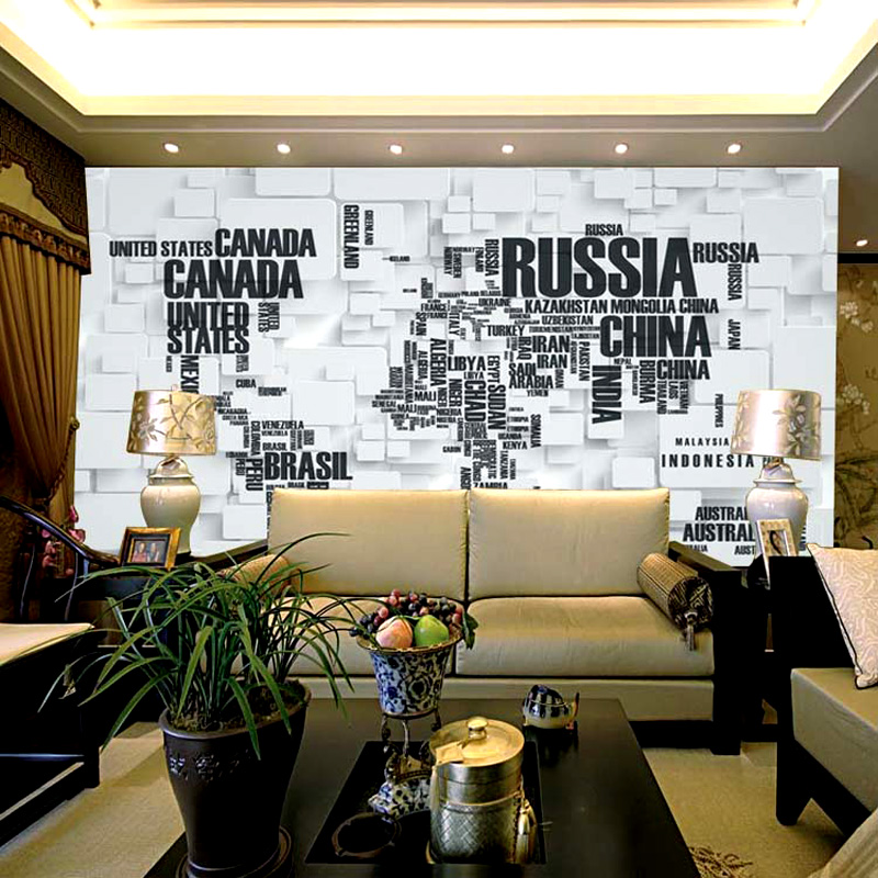 China world map wallpaper china world map wallpaper shopping get quotations tahiti 3d world map sofa bedroom tv background wallpaper nonwoven wallpaper seamless large mural gumiabroncs Choice Image