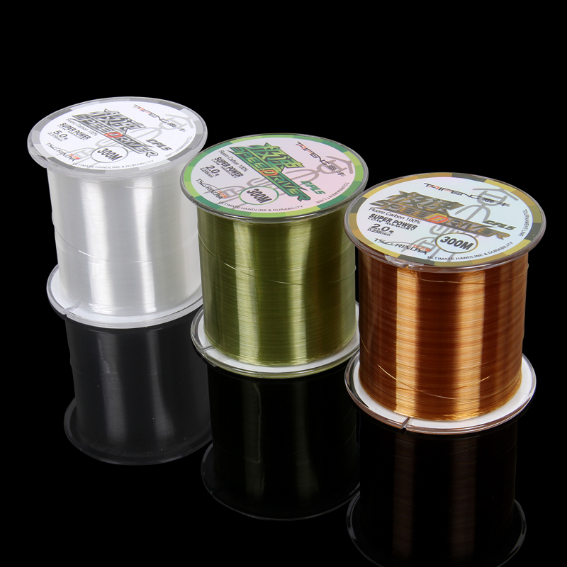 Tai fung no. 300 m 2-4.5 high strength nylon line wearable line fishing line fish line asia line