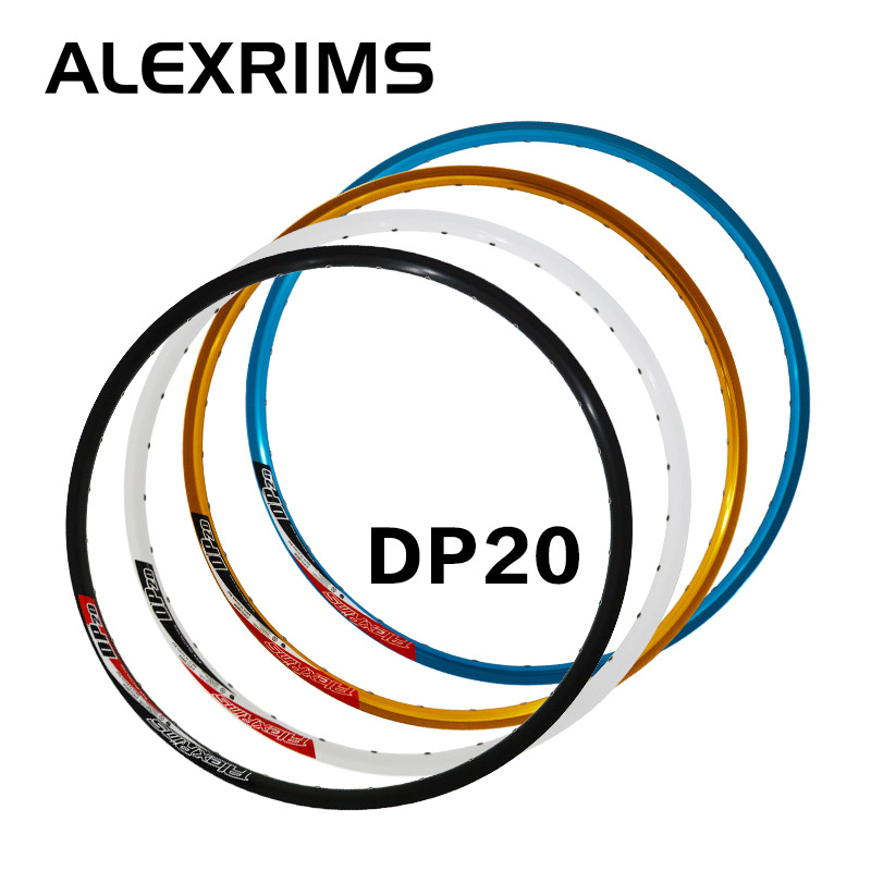 Taiwan alexrims alex dp20 rims mountain bike rims rims 32 hole disc aluminum alloy double layer