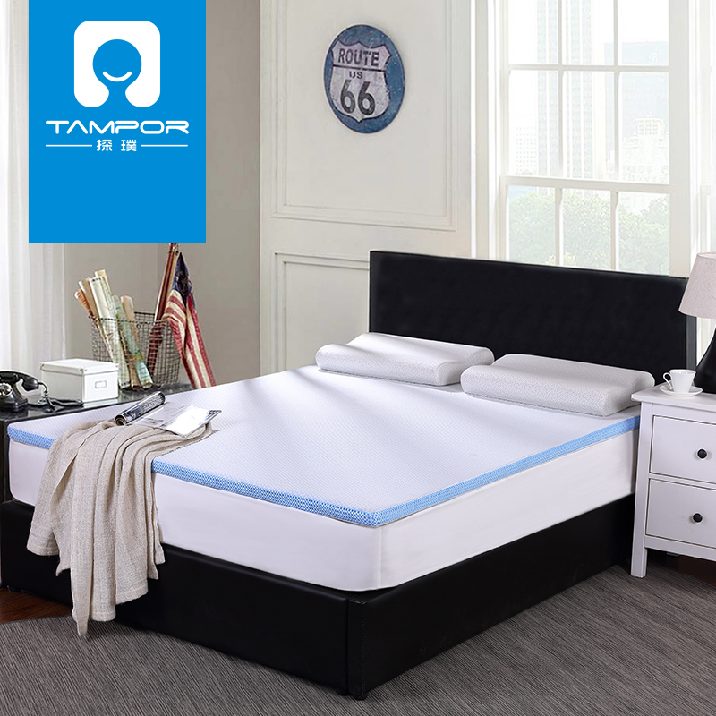 Tampor thick memory foam mattress memory foam mattress dormitories 1. 5 m mattress