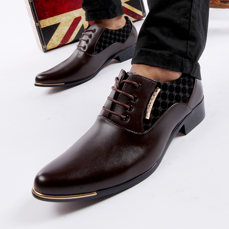 Tan rui new fall fashion wild pointed shoes casual shoes to help low men's british style men's casual shoes tide shoes