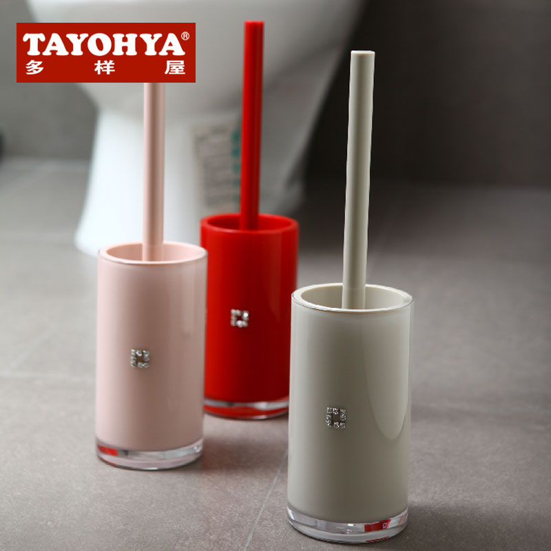 Tayohya/diverse housing bright imported acrylic bathroom toilet toilet brush toilet brush toilet suite
