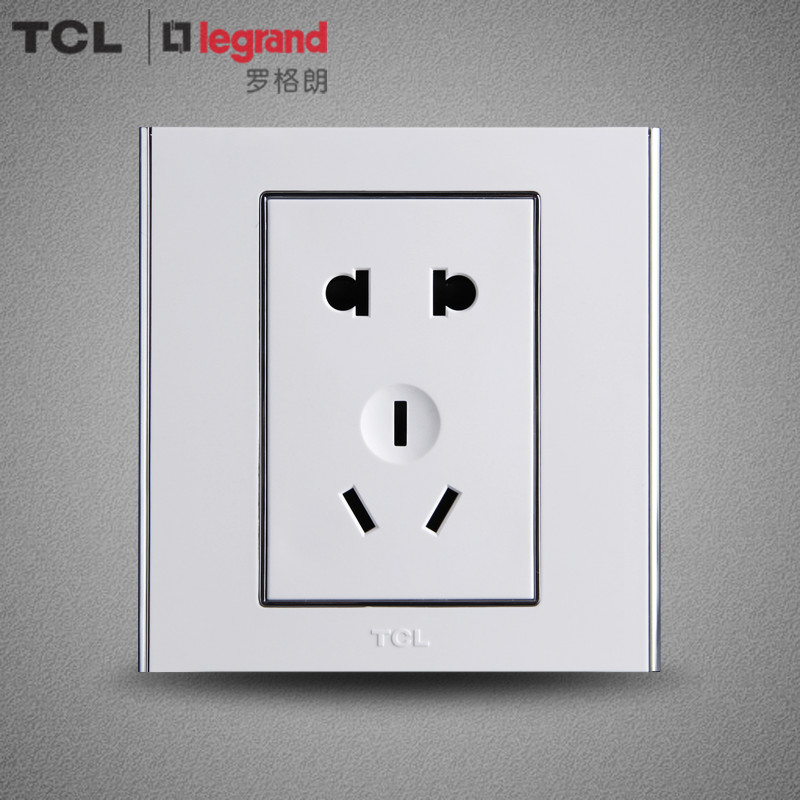 Tcl legrand switch panel 86 type wall switch socket panel a8 series five hole socket specials
