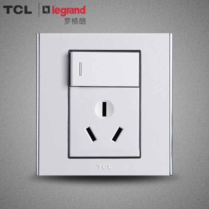 Tcl legrand switch socket wall switch socket panel switch panel a8 series 16a socket with switch air conditioning