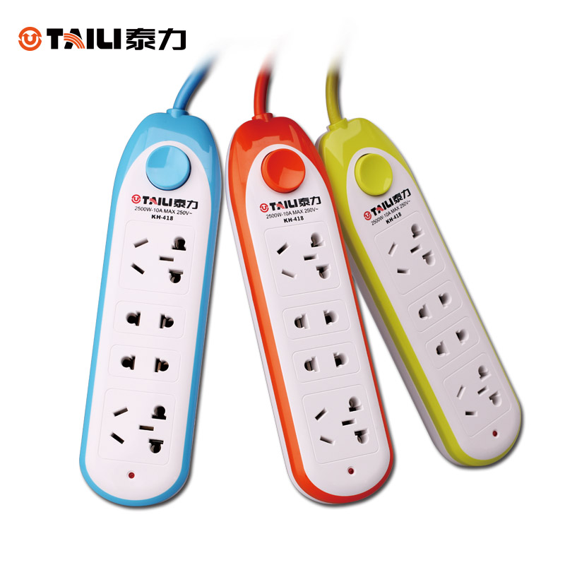 Teli multifunctional porous plug socket power strip flapper 4 digit mobile home wiring board power strip 3 noodle