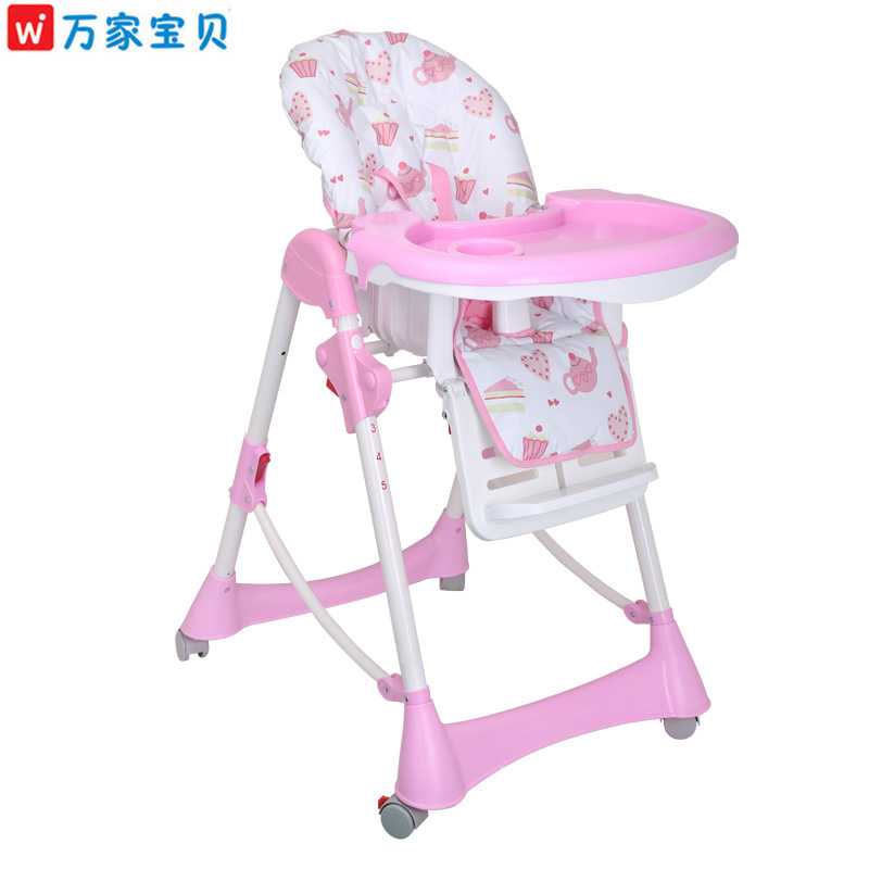 Ten thousand baby collapsible portable baby dining chair dining chair multifunction children bao bao children eat chair dining chair