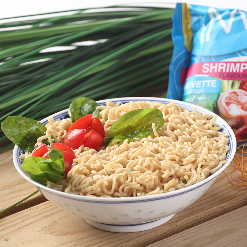 Thailand imported instant noodles imee amy snacks to eat instant noodles shrimp flavor instant noodles 70g night owl