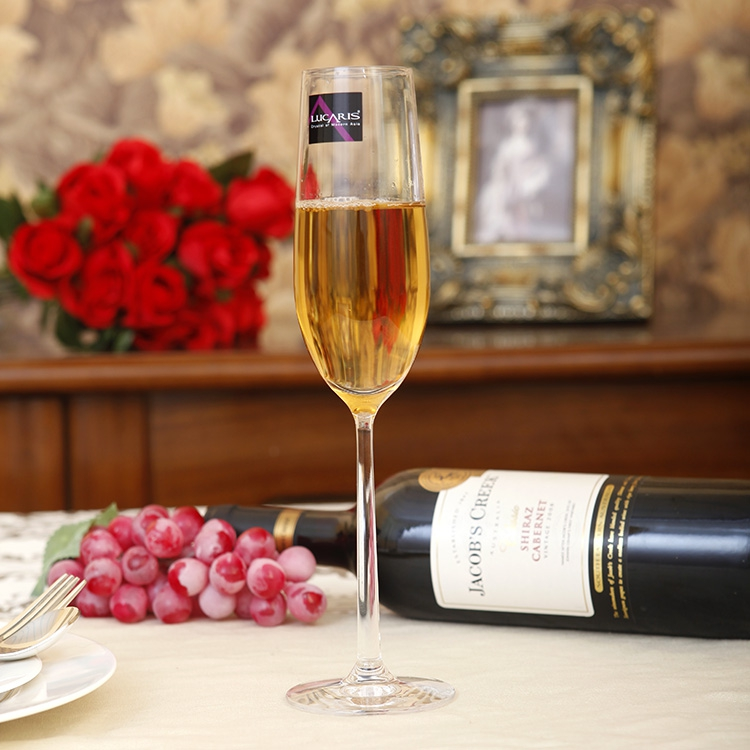 Thailand imported lucaris shanghai essence of ritual items to install tall champagne glass champagne flute glass bubble