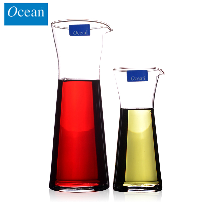 Thailand imported ocean glass with a glass of red wine wine liquor points jiuzun unleaded mouth pourer suit