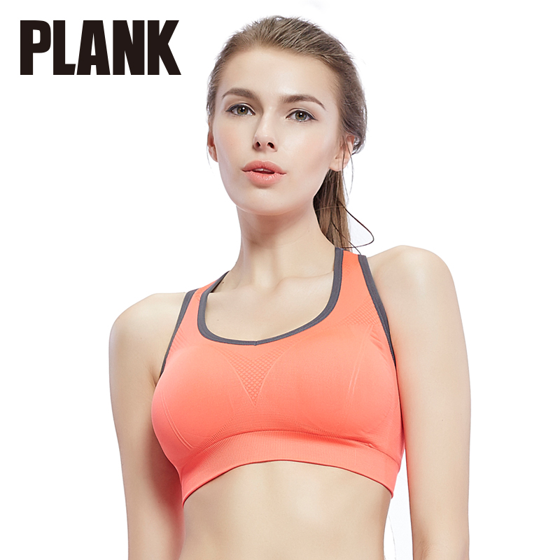 Than thin plank yoga shockproof no rims running sports underwear vest sports bra gather have chest pad