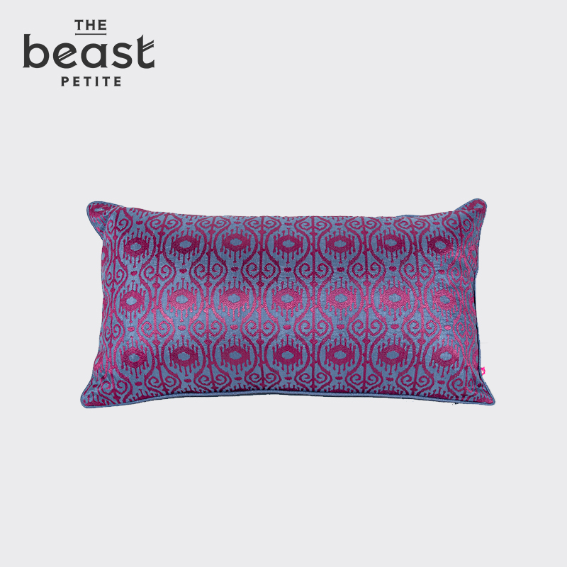 The beast/fauvism indian silk containing pillow pillow cushions home