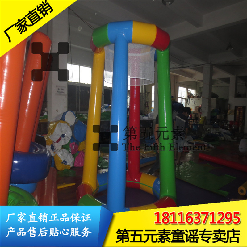 The fifth element water inflatable football box fun sports football inflatable water toys inflatable water floating box