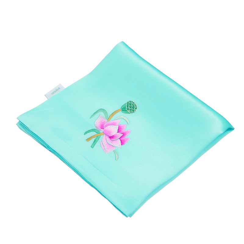 The name of the ancient art of embroidery hand embroidery silk handkerchief double silk chinese style fashion gift