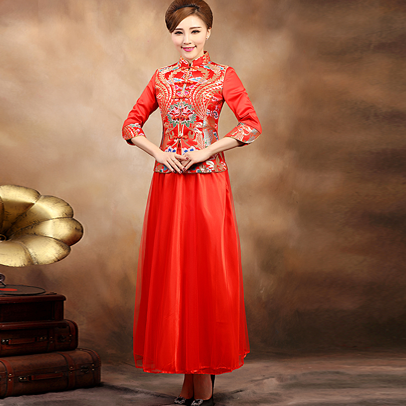 China Red Wedding Dresses, China Red Wedding Dresses Shopping ...
