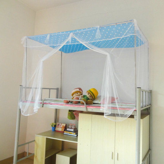 The new dust cloth top top special encryption student dormitory bedroom curtains bunk bed nets zipper
