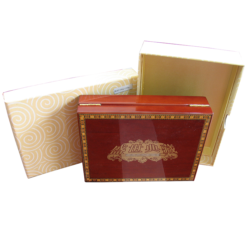 The new gorgeous josé saatchi collection wooden box. gold and silver bars wooden box gift box collection box protection box