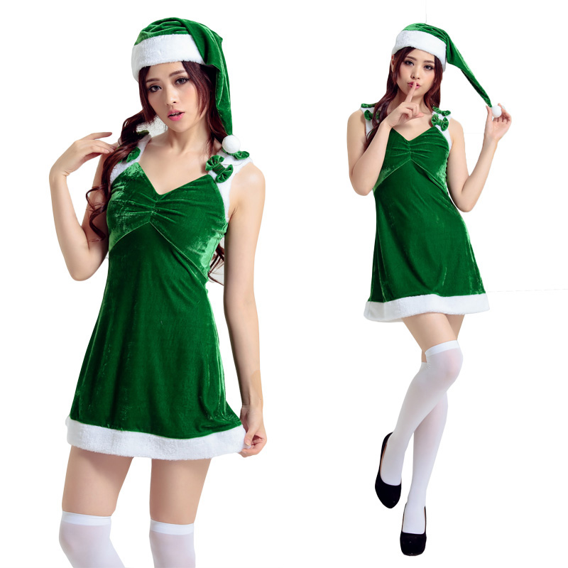 Get Quotations The New Green Christmas Costumes Costume Adult Female