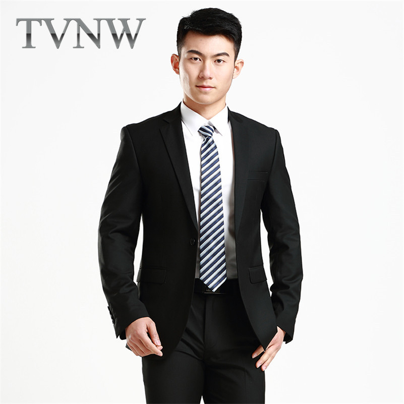 The new men's suits TVNW2016 slim wear business suits groom wedding dress tide 1996
