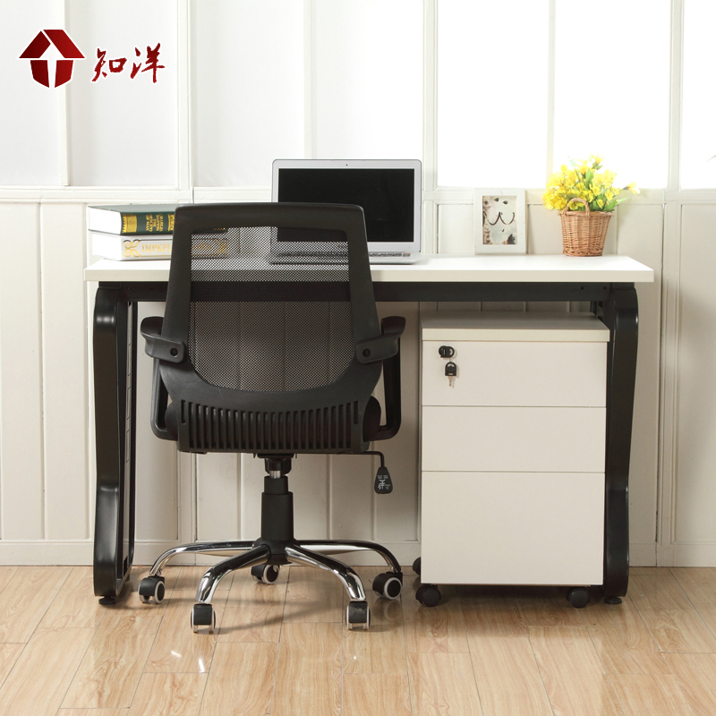 Get Quotations · The New Office Furniture Desk Computer Desk Modern Home Office  Desk Writing Desk Single Desk Employees