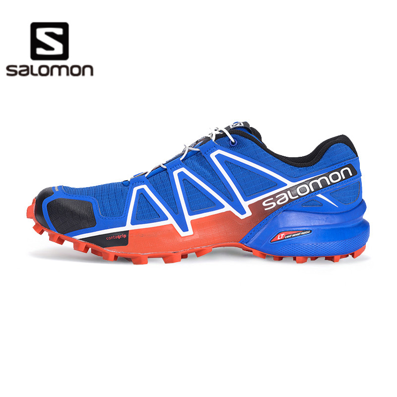 The new salomon/salomon men's lightweight breathable outdoor cross country running shoes-speedcross 4 m