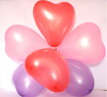 Thick pearl balloons balloon wedding color ribbon birthday balloons arranged wedding decoration supplies package