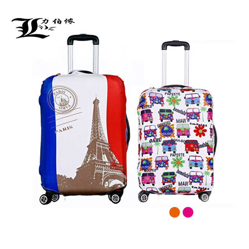 Thick waterproof wearable luggage sets luggage sets luggage trolley case protective sleeve jimmys elastic dust cover dust cover