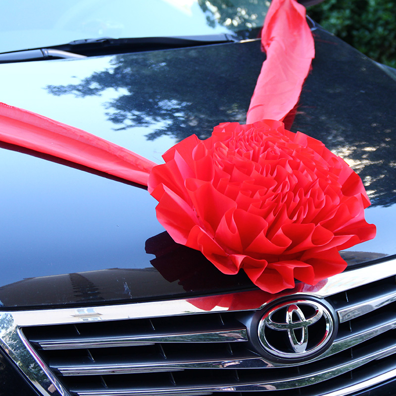Think of josé opening ceremony flower ball wedding flower ball wedding car wedding car wedding car decorated the front of the front flower